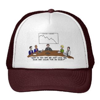 Meeting In Boardroom Color Hat