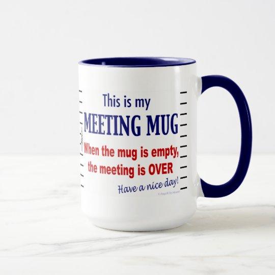 Office coffee mugs Travel Zazzle Meeting Mug Funny Office Humor Coffee Mug Zazzlecom
