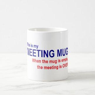 Meeting Mug - Work Meeting, Committee Meeting