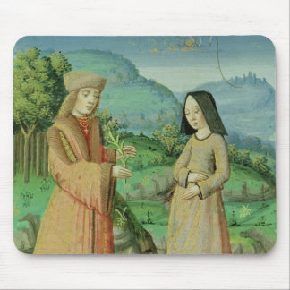 Meeting of Aeneas and Anne, the sister of Dido Mouse Pad