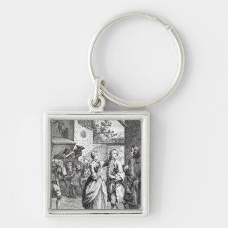 Meeting of Chevalier Des Greux and Manon Keychain