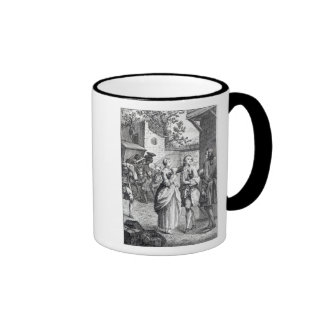 Meeting of Chevalier Des Greux and Manon Ringer Mug