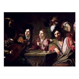 Meeting of Drinkers Postcard