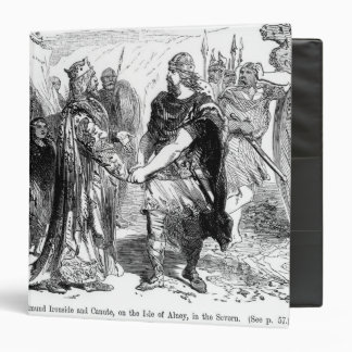Meeting of Edmund Ironside  and Canute Binder