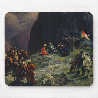 Meeting of Gen.Kluke von Klugenau & Imam Mouse Pad