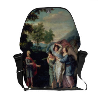 Meeting of Jacob and Laban with Rachel, Leah and S Courier Bag