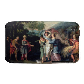 Meeting of Jacob and Laban with Rachel, Leah and S iPhone 3 Case