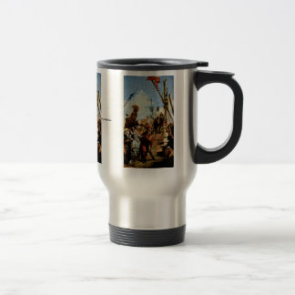 Meeting Of Marc Antony And Cleopatra 15 Oz Stainless Steel Travel Mug