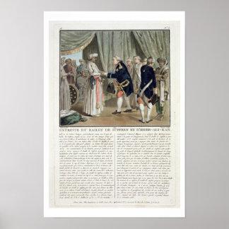 Meeting of Pierre Andre de Suffren de Saint Tropez Poster
