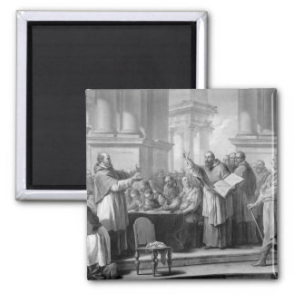 Meeting of St. Augustine and the Donatists Magnet