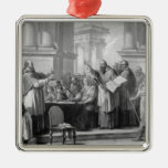 Meeting of St. Augustine and the Donatists Christmas Ornaments