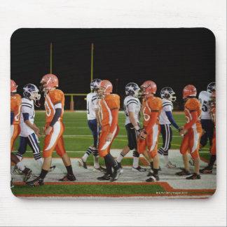 Meeting of teams of American football in field, Mouse Pad