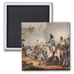Meeting of the Emperors of Russian and Austria, Ki 2 Inch Square Magnet
