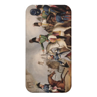 Meeting of the Emperors of Russian and Austria, Ki Cover For iPhone 4