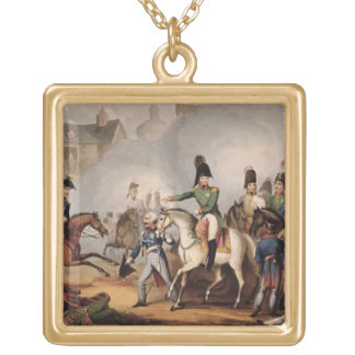 Meeting of the Emperors of Russian and Austria, Ki Gold Plated Necklace