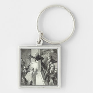 Meeting of the National Assembly, 1791 Keychain