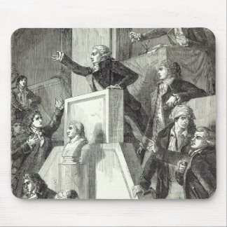 Meeting of the National Assembly, 1791 Mouse Pad