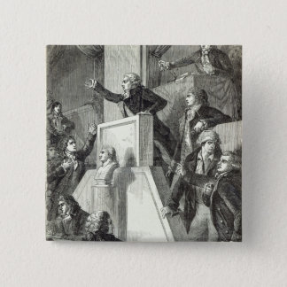 Meeting of the National Assembly, 1791 Pinback Button