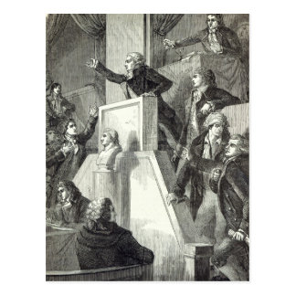 Meeting of the National Assembly, 1791 Postcard
