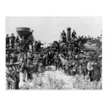 Meeting of the Rails - Promontory Point Utah 1869 Post Cards