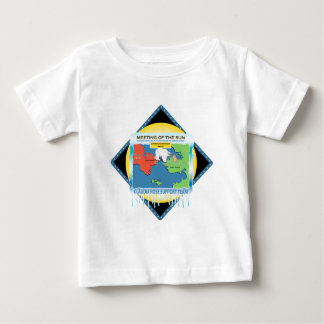 Meeting of the Sun Relay Swim Baby T-Shirt