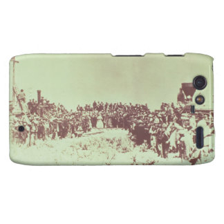 Meeting of the Union Pacific and the Central Pacif Motorola Droid RAZR Cover