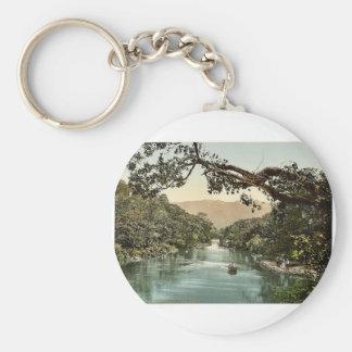 Meeting of the Waters. Killarney. Co. Kerry, Irela Key Chain