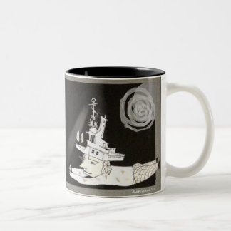 meeting...somewhere Two-Tone coffee mug