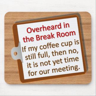 Meeting Time Mousepad