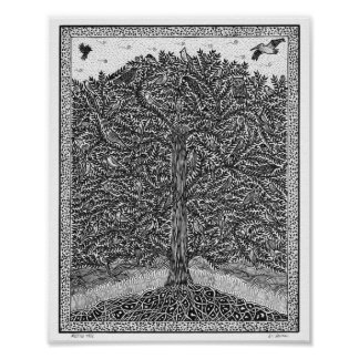 Meeting Tree Poster