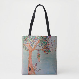 Meeting your changed everything! tote bag