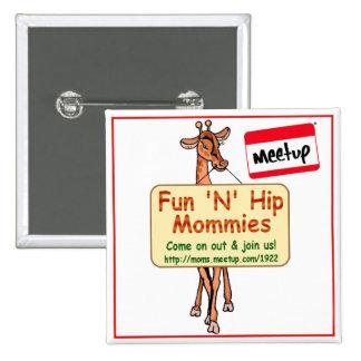 Meetup Button Fun N Hip Mommies MD, DC, VA