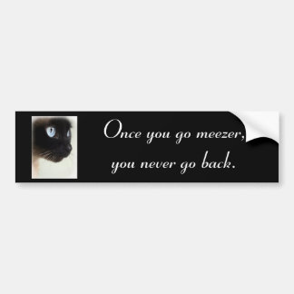 Meezer Bumper Sticker