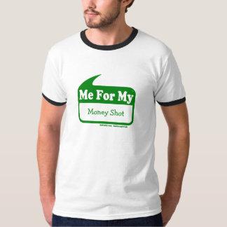 MeForMy Money Shot Mens Ringer Tee Shirts