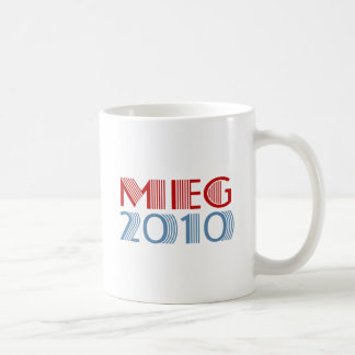 Meg 2010 (for governor) coffee mug
