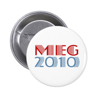 Meg 2010 (for governor) pinback button