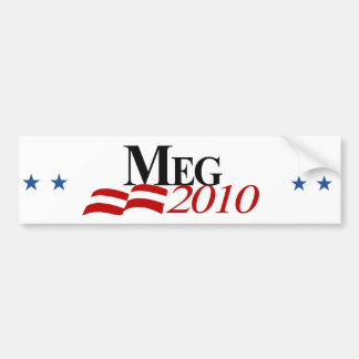 Meg Bumper Sticker