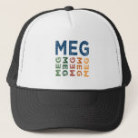 Meg Cute Colorful Trucker Hat