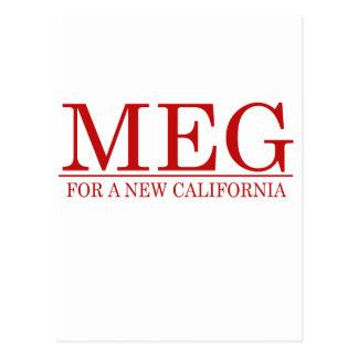 Meg for a New California Postcard