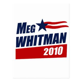 MEG WHITMAN 2010 POSTCARD