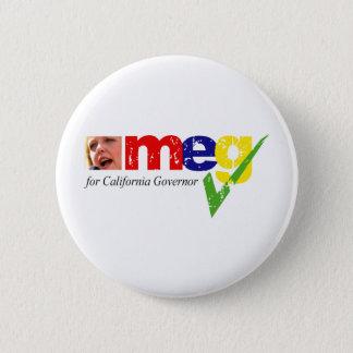 Meg Whitman for California Governor Button