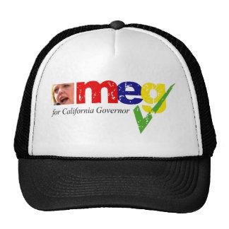 Meg Whitman for California Governor Trucker Hat