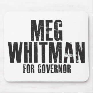 Meg Whitman For Governor 2010 Mouse Pad