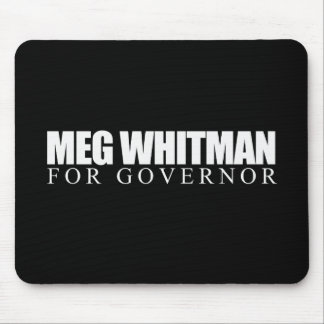 Meg Whitman for Governor 2010 Mouse Pads