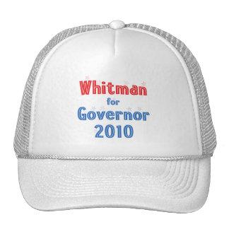 Meg Whitman for Governor 2010 Star Design Trucker Hat