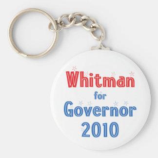 Meg Whitman for Governor 2010 Star Design Keychain