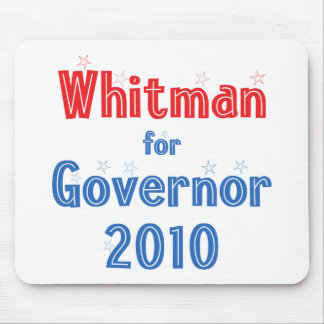 Meg Whitman for Governor 2010 Star Design Mouse Pad