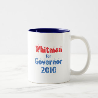 Meg Whitman for Governor 2010 Star Design Coffee Mug