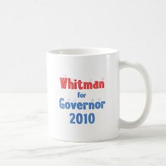 Meg Whitman for Governor 2010 Star Design Coffee Mugs