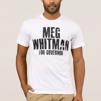 Meg Whitman For Governor 2010 T-Shirt
